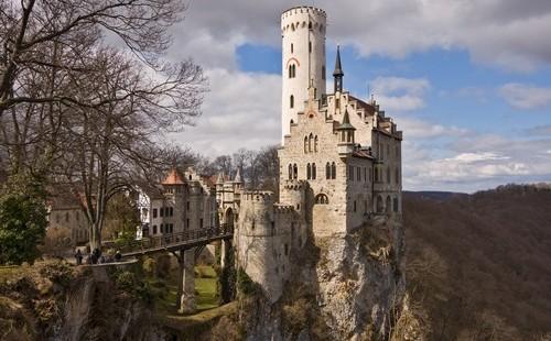 Castillo Lichtenstein Alemania