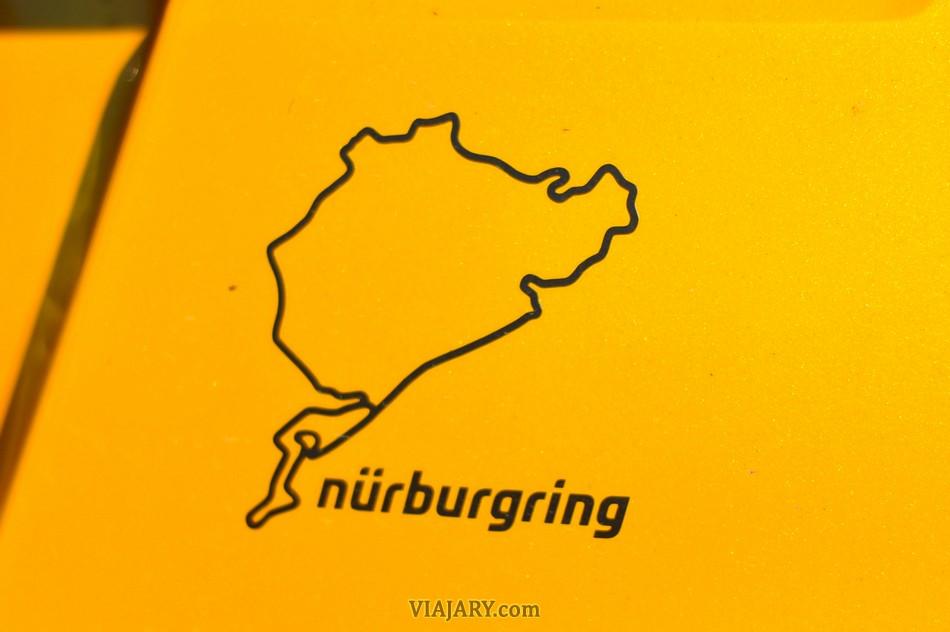 Pegatina circuito Nürburgring