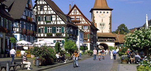 Pueblo con encanto en Alemania Gengenbach