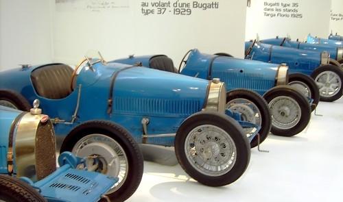 Museo del automóvil Bugatti en Francia