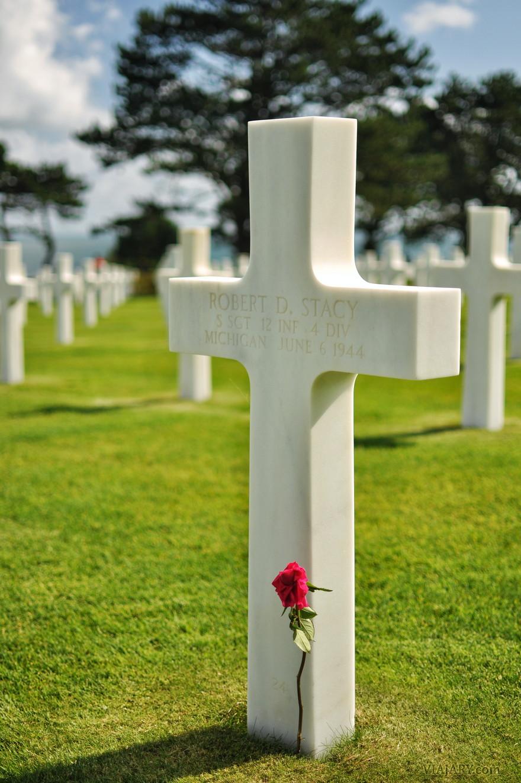 Cementerio americano Normandia fotos