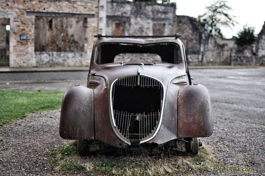 Oradour-Sur-Glane en fotos