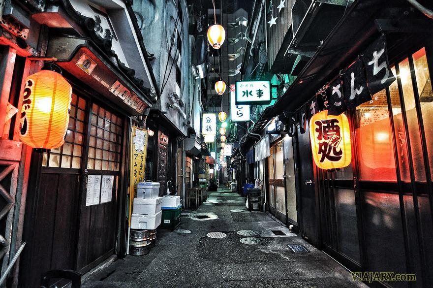 NONBEI YOKOCHO SHIBUYA TOKYO CALLEJON DE LOS BORRACHOS