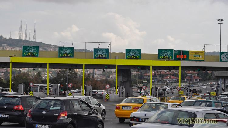 Puente Estambul conducir turquia autopistas peaje